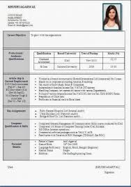 Resume Format For Civil Engineers Pdf Free Resume Format S Stylish
