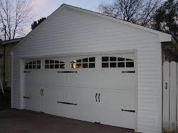 Detached Garage Facelift (Carriage Door, Opener, Vinyl Siding ...