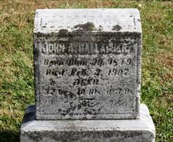 John Andrew Gallagher (1849-1907) - Find A Grave Memorial