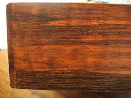 Fake wood paint Macassar Ebony