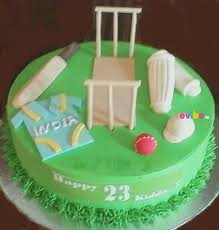 Order Cricket Theme Special Cake Online Birthday Cake In Bangalore