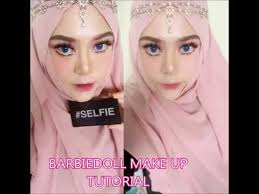 barbie doll make up tutorial