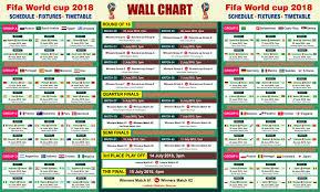 Fifa World Cup 2018 Pdf Printable Fifa World Cup 2018