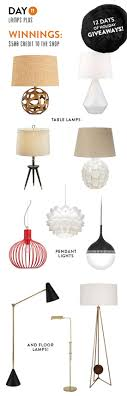 giveaway lamps