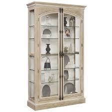 rustic curio cabinet. Fine Rustic Pulaski Hailey Cremone Door Curio Cabinet In Rustic Beige For O
