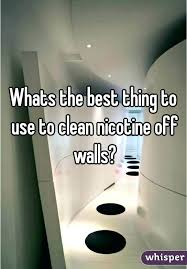 how to remove smoke from walls nicotine stains on walls and ceilings clean cigarette smoke odor
