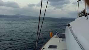 Dream Catcher Boat Santorini Catamaran cruise at Santorini Greece YouTube 86