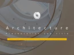 Architectural Powerpoint Template Architecture Animated Ppt Template
