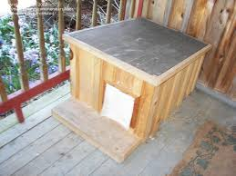 building an outdoor cat house plans here some pictures of the house i built for my outside tommies mainly