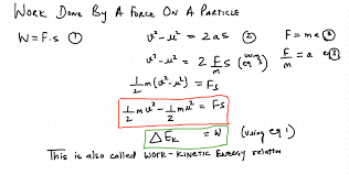 Daily Chaos Work Kinetic Energy Theorem