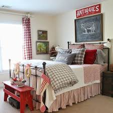 stunning red white blue bedroom ideas