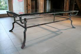 glass iron coffee table coffetable wrought iron glass end table rustic wood and metal coffee table