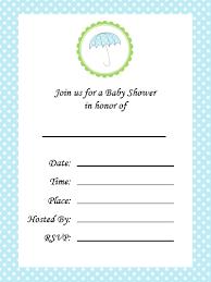 baby shower invitation blank templates blank baby shower invitations free printable baby shower