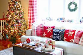 Christmas Curtains For Living Room Christmas Lights Decoration