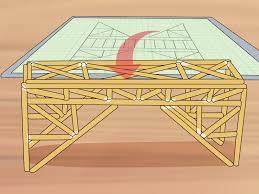 Balsa Wood Bridge Designs 3 Ways To Build A Balsa Wood Bridge Wikihow