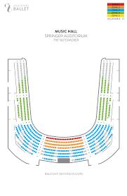 Cincinnati Music Hall Seating Chart Music Hall Information Cincinnati Ballet