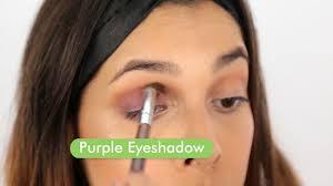 2 use purple eyeshadow