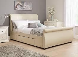 Manhattan Bedroom Furniture Manhattan Bed Frame Ivory Bonded Dreams