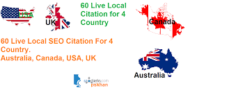 Create 60 Live Local Seo Citations For Canada Or Usa Or Uk Or