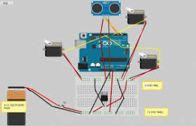 teachstemnow com al chirinian the complete wiring diagram we have added a servo and sonar sensor compared to the standard basicbot