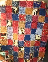 218 best Rag Quilt Cowboy Western images on Pinterest | Cowboy ... & Western rag quilt! Adamdwight.com
