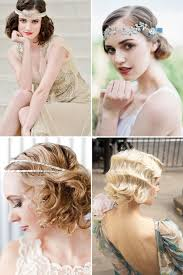 1920 s inspired wedding hair ideas onefabday