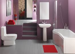 Bathroom Best Purple Bathroom Color Ideas With Red Accent Of Area Adorable Small Bathroom Paint Color Ideas Interior