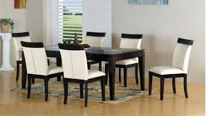 minimalistic black and white dining table chairs designs black white modern kitchen tables