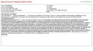 sample resume cover letter sles trainer athletic trainers resume s trainer lewesmr athletic cover letter