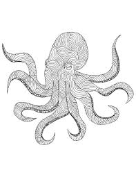 octopus coloring book 15