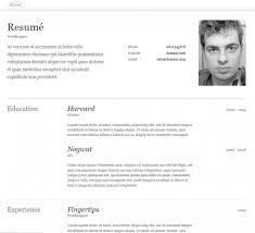 free creative resume   cv templatesresume template