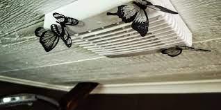 why is my bathroom fan dripping hvac