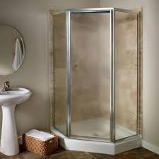 american standard prestige 24 25 in x 68 5 in neo angle shower door in