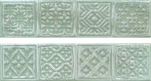 <b>Керамический декор Cifre Opal</b> Comp. Rodia Turquoise 15x30см ...