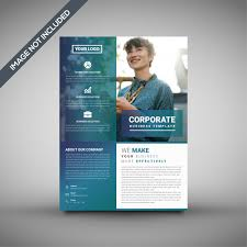 Creative Corporate Flyer Template Vector Premium Download