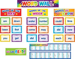 Teacher Created Resources First 100 Sight Words Pocket Chart Cards Tcr20845