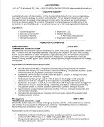 Human Resources Resume Template Mesmerizing Hr Executive Resumes Tier Brianhenry Co Resume Samples Printable Hr