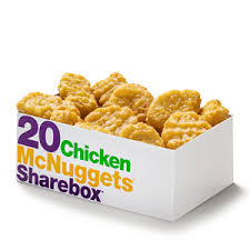 Mcdonalds Uk Nutrition Chart 20 Piece Chicken Mcnuggets Mcdonalds Uk