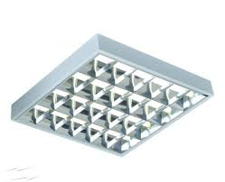 4 x 18w t8 cat2 surface mounted modular fluorescent ing square fixture 610 x 610 x 75mm