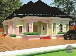 3 bedroom flat bungalow hosue plan