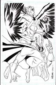 Dr Fate And Hawkman Commission By
