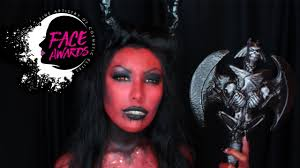 female devil makeup tutorial nyx face awards 2017