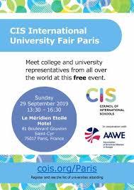 Association Of American Women In Europe University Fair