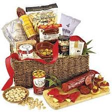 gathering of friends basket chorizo spanish food gifts for friends cool gifts