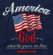 God shed his grace on thee and we as Americans should be thankful