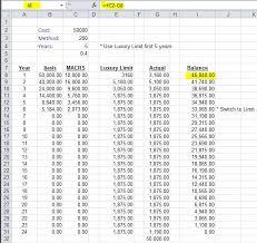 Depreciation Schedule Calculator Light General Purpose Truck Depreciation Calculation