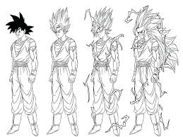 Small Picture Dragon Ball Z Coloring Pages Gokudbz Goku Bardock Ideas In Super