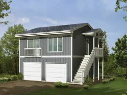 Garage Plans Two Car Two Story Garage With Apartment And Balcony Two Story Garage Apartment