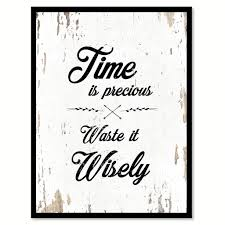 office motivation ideas. Time Is Precious Motivation Quote Saying Gift Ideas Home Decor Wall Art 111618 Office M