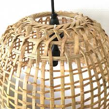 bamboo pendant lighting. plaited bamboo pendant light lighting